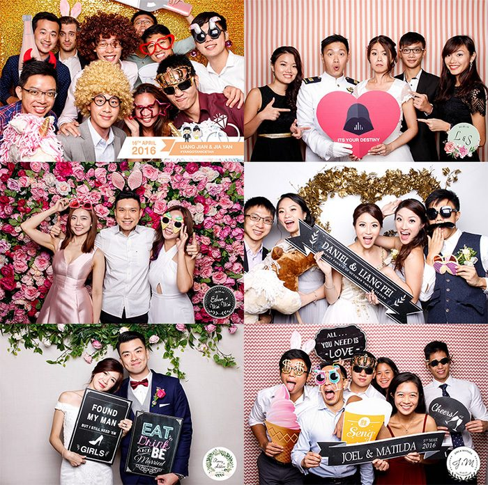 photo booth wedding singapore
